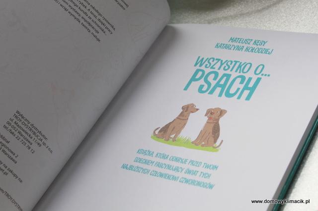WSZYSTKO O PSACH... Książka dla dzieci