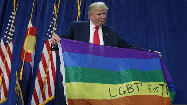 GOVERNO TRUMP BUSCA LEGALIZAÇÃO DA HOMOSSEXUALIDADE EM TODO O MUNDO ENQUANTO CRIANÇAS E OUTRAS VÍTIMAS DA HOMOSSEXUALIDADE SÃO ESQUECIDAS