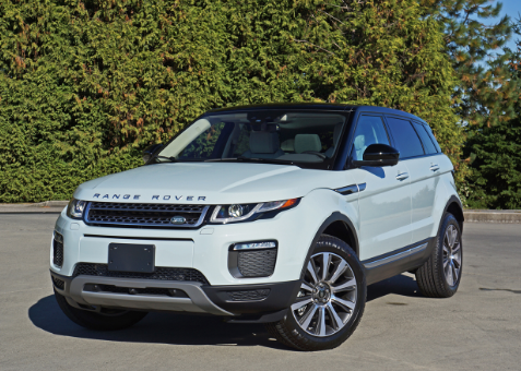 2016 Land Rover Range Rover Evoque 9-Speed Automatic Review