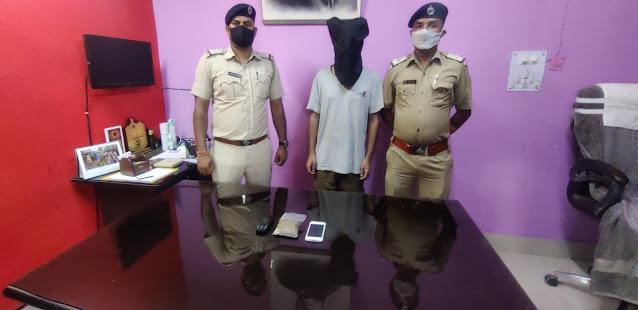 गुप्त सूचना के आधार पर पानीटंकी पुलिस ने ब्राउन शुगर के साथ एक नेपाली युवक को किया गिरफ्तार।