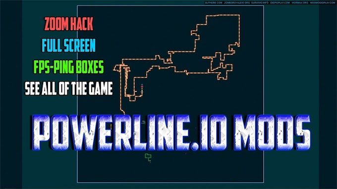 Powerline.io Awesome Mod | Modded UI 2020