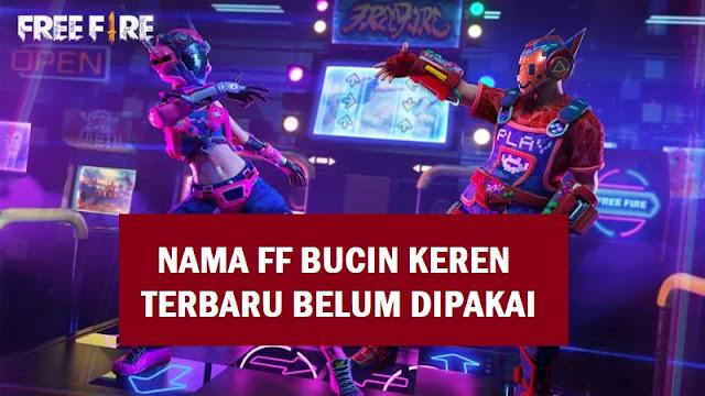 Nama FF Bucin Payung Keren 2021