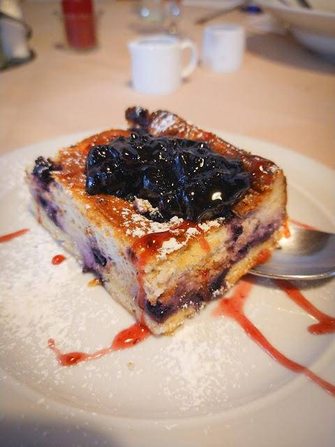 An awesome blueberry cake; Poarta Raiului, Romania