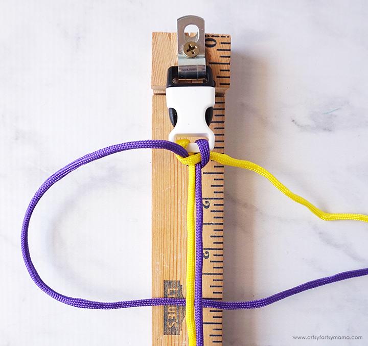 Paracord Bracelet Step 4
