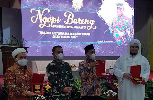 Tak Anggap Sebagai Musuh, Pangdam Jaya Dudung: Habib Rizieq Orang Berilmu Luar Biasa