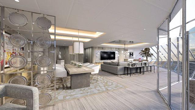Celebrity Edge, Ionic Suite (C) Celebrity Cruises