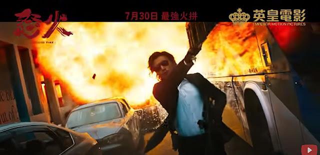 Sinopsis Film Hong Kong Raging Fire (2021)
