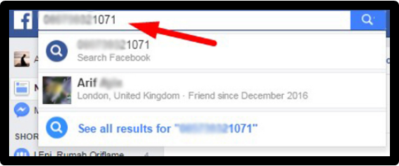 Find someone On Facebook by their Phone Number - KOBE MONITOR