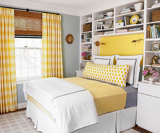 Modern Furniture 2014 Clever Bedroom Makeover from BHG