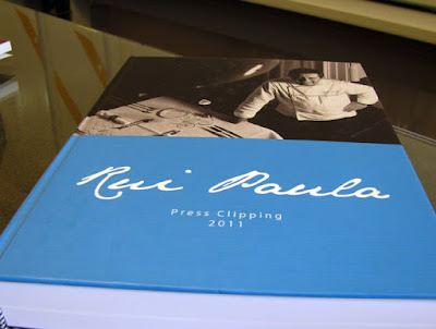 Capa de clipping do chef Rui Paula