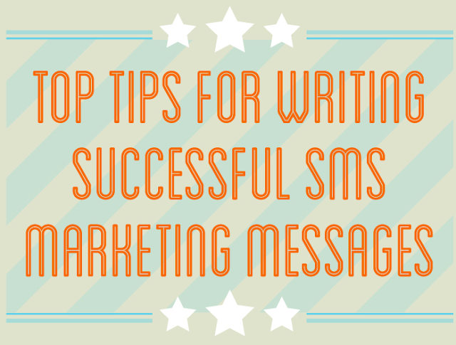 6 Tips For Writing Successful SMS Marketing messages  #Infographic