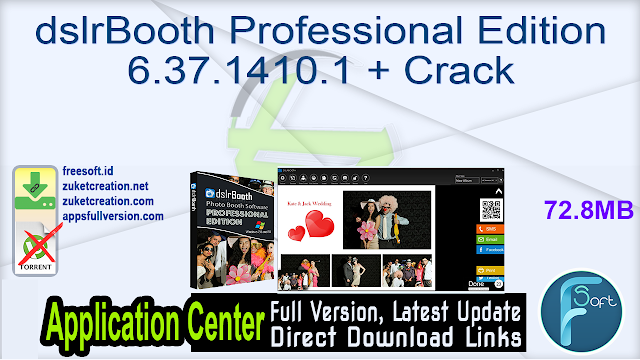 dslrBooth Professional Edition 6.37.1410.1 + Crack