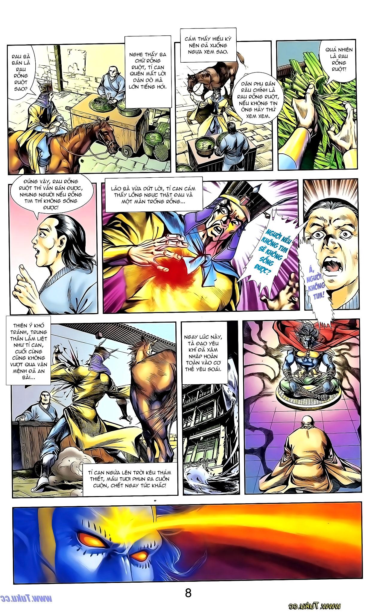 Cơ Phát Khai Chu Bản chapter 135 trang 25
