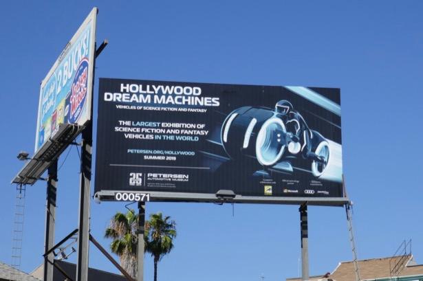 Hollywood Dream Machines Petersen billboard
