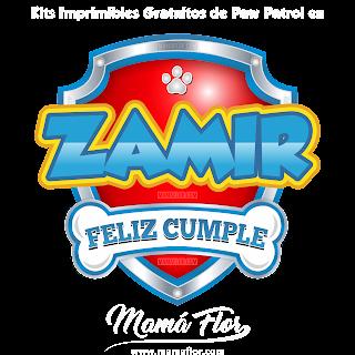 Logo de Paw Patrol: ZAMIR