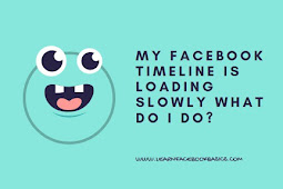 Facebook timeline is loading very slowly what should users do?