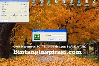 Cara Meremote PC / Laptop dengan Software VNC | mudah dan lengkap