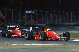 Gerhard Berger e Michele Alboreto - Ferrari / 1988