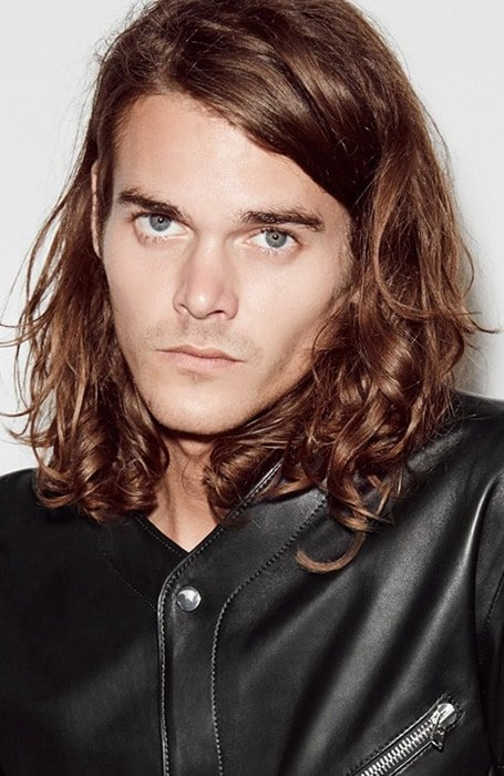 model rambut pria muka bulat