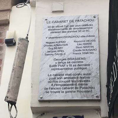 Rue de Mont Cenis targa