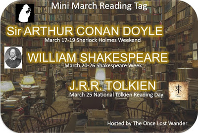 Mini March Reading Tag