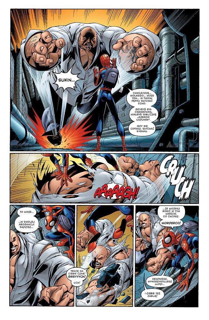 Ultimate Spider-Man tom 1 przykładowa strona