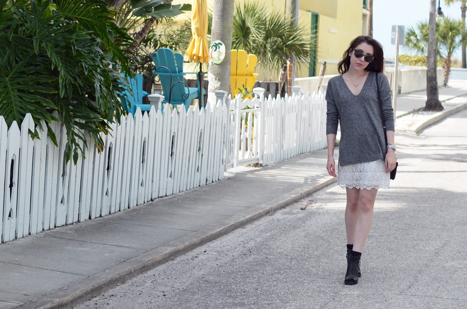 2015 In Review: OOTD in Pass A Grille Florida in January