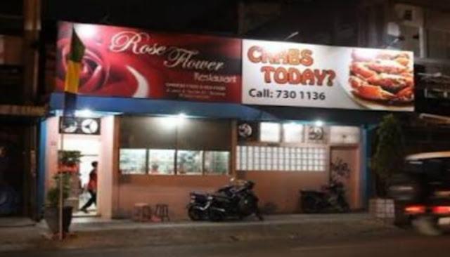 restoran rose flower