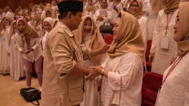 Titiek Tepis La Nyalla: Prabowo Bukan Mualaf, Sejak Awal Islam