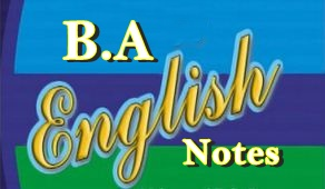 B.A. English Complete Notes PDF Download