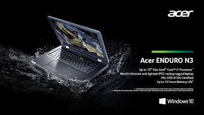 Acer Enduro N3 Rugged Notebook