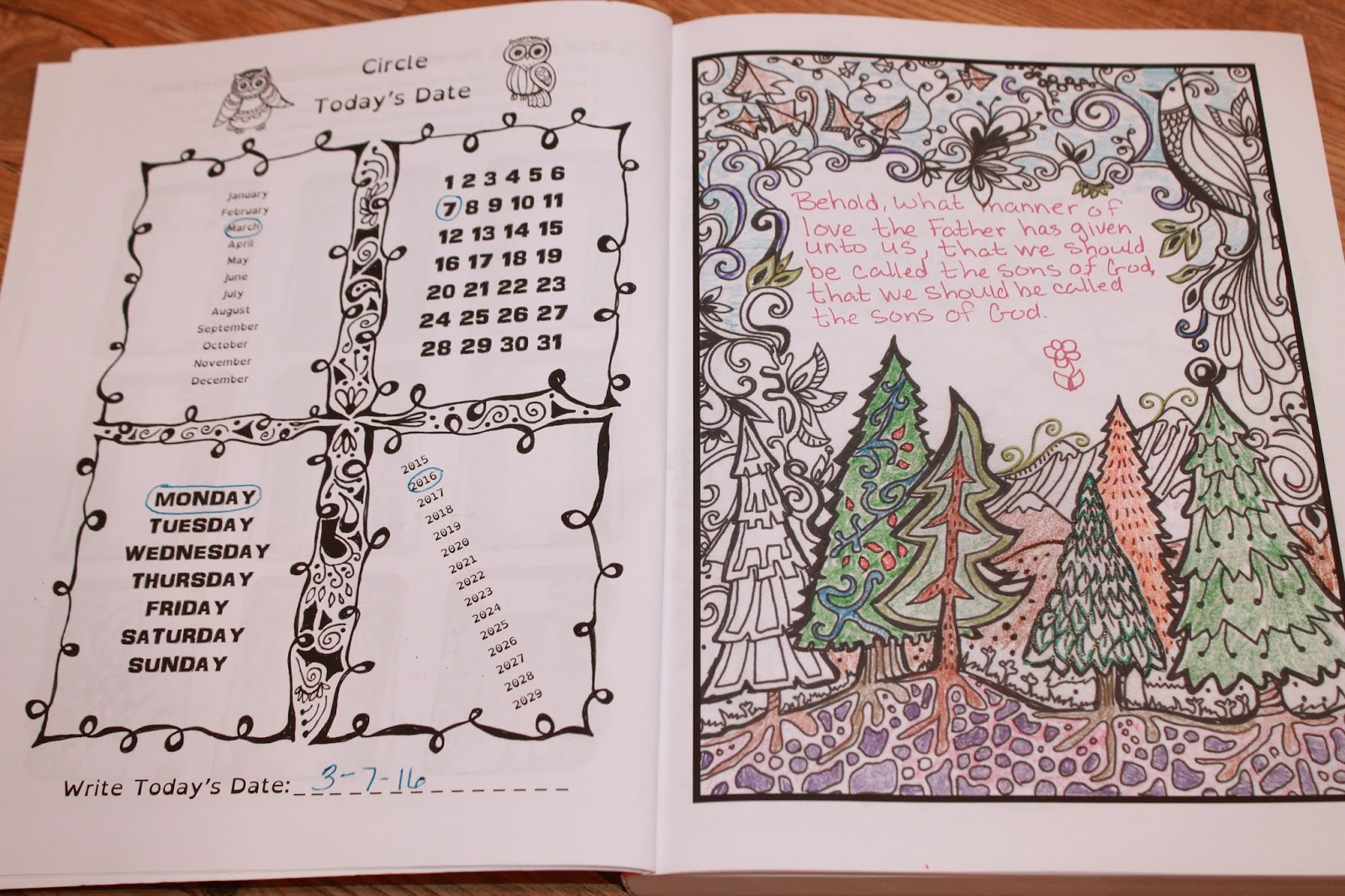 free coloring pages of psalty - photo#5