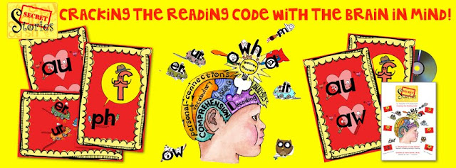 Secret Stories Cracking the Reading Code with the Brain in Mind By Katie Garner  #BrainRead