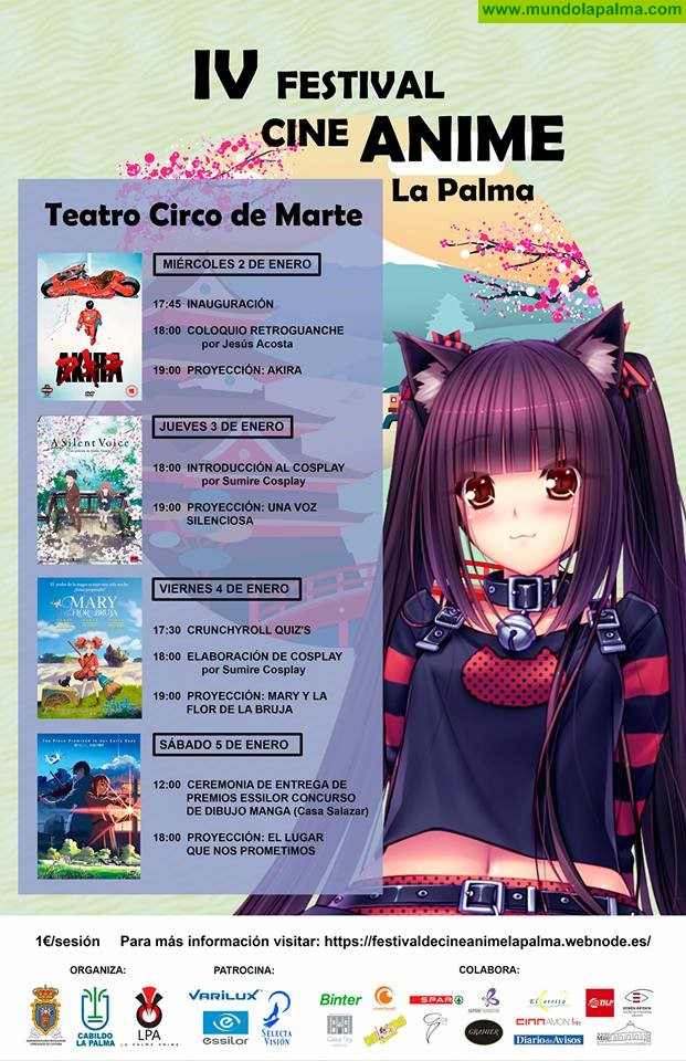 IV Festival de Cine Anime La Palma