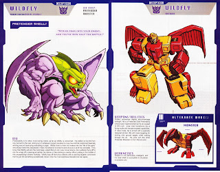 Wildfly Decepticon Transformer
