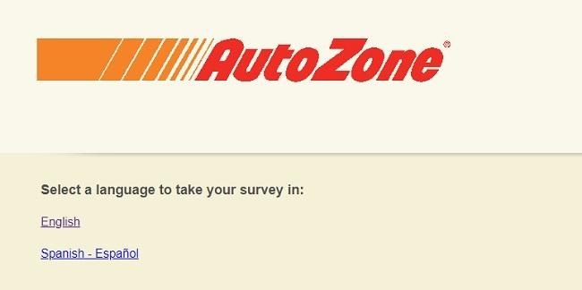AutoZone customer satisfaction sweepstakes