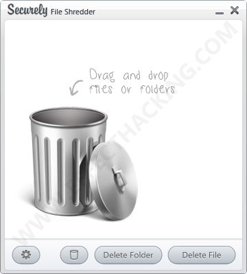 Securely File Shredder Screenshot