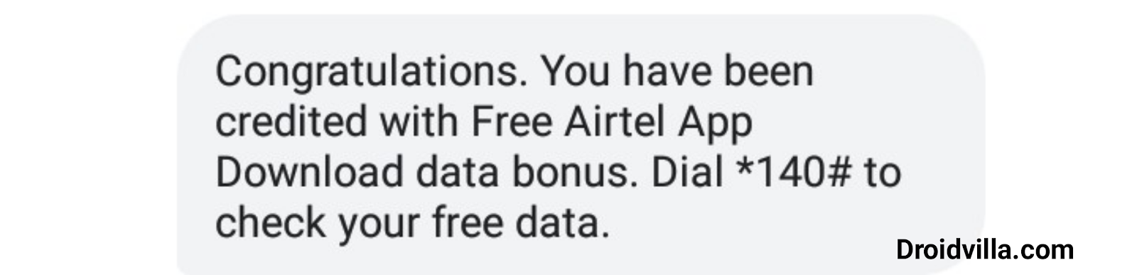 Airtel TV free 3GB