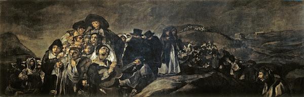 A Pilgrimage to San Isidro by Francisco de Goya, Macabre Paintings, Horror Paintings, Freak Art, Freak Paintings, Horror Picture, Terror Pictures