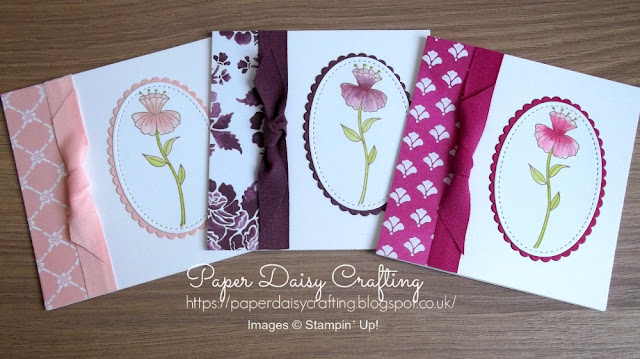Flirty Flowers from Stampin' Up!