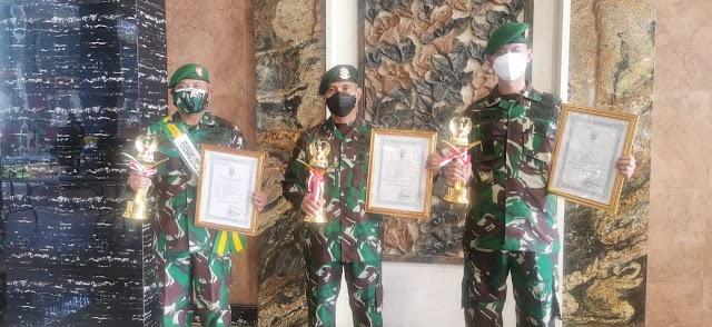 Letkol Arm Oke Kistiyanto Juara Lomba Karya Tulis Teritorial TNI AD