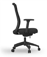 Cherryman Zetto Chair - Side Profile