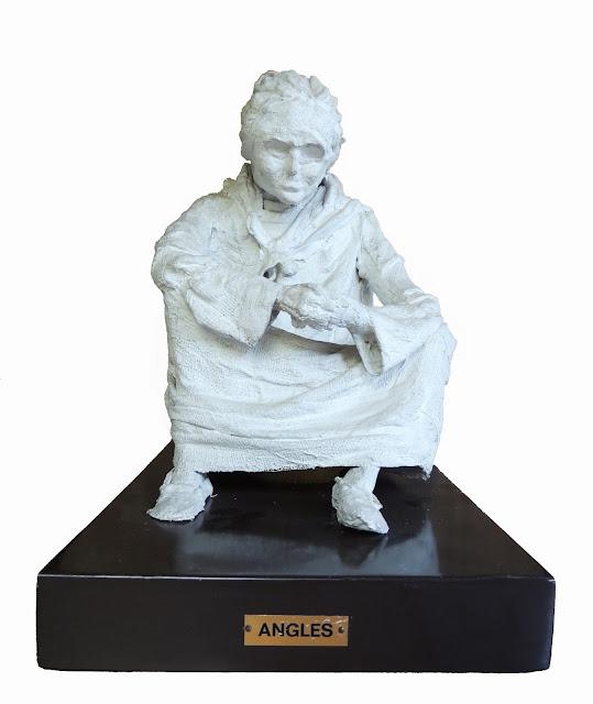 francesc angles escultura la mendiga