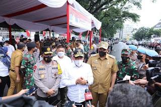 Hadiri Apel Ops Kontijensi Aman Nusa II Toba Penanganan Covid -19, Kapolda Sumut Ajak Masyarakat Patuhi Aturannya