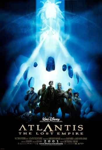 Atlantis: The Lost Empire 2001 480p 250MB BRRip Dual Audio
