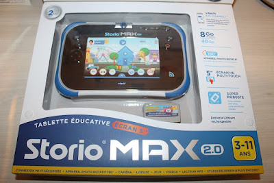 avis de parents sur la storio max