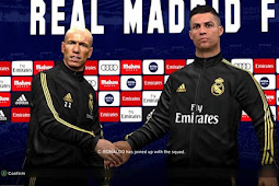 Real Madrid Kit Manager & Press Room - PES 2017