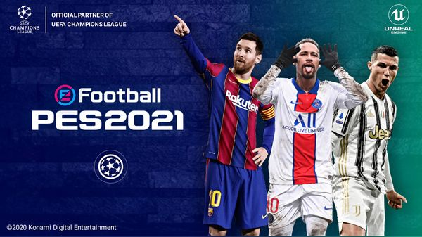 eFootball PES 2021 UCL Edition Best Graphics | PPSSPP Android Download