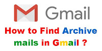How to See/Find Archive mails in Gmail App?