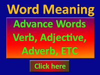 English Word meaning with pronunciation
